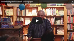 Zurich-trained Jungian analyst and author Bud Harris, Ph.D. presents his memoir, Cracking Open, at Malaprop's Bookstore in Asheville, NC on July 12, 2015.