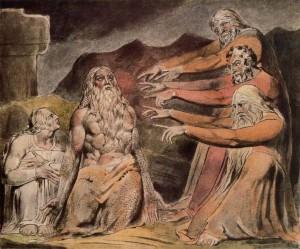 William Blake, Illustration to the Book of Job
