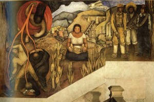 The Mechanization of the Country, Diego Rivera
